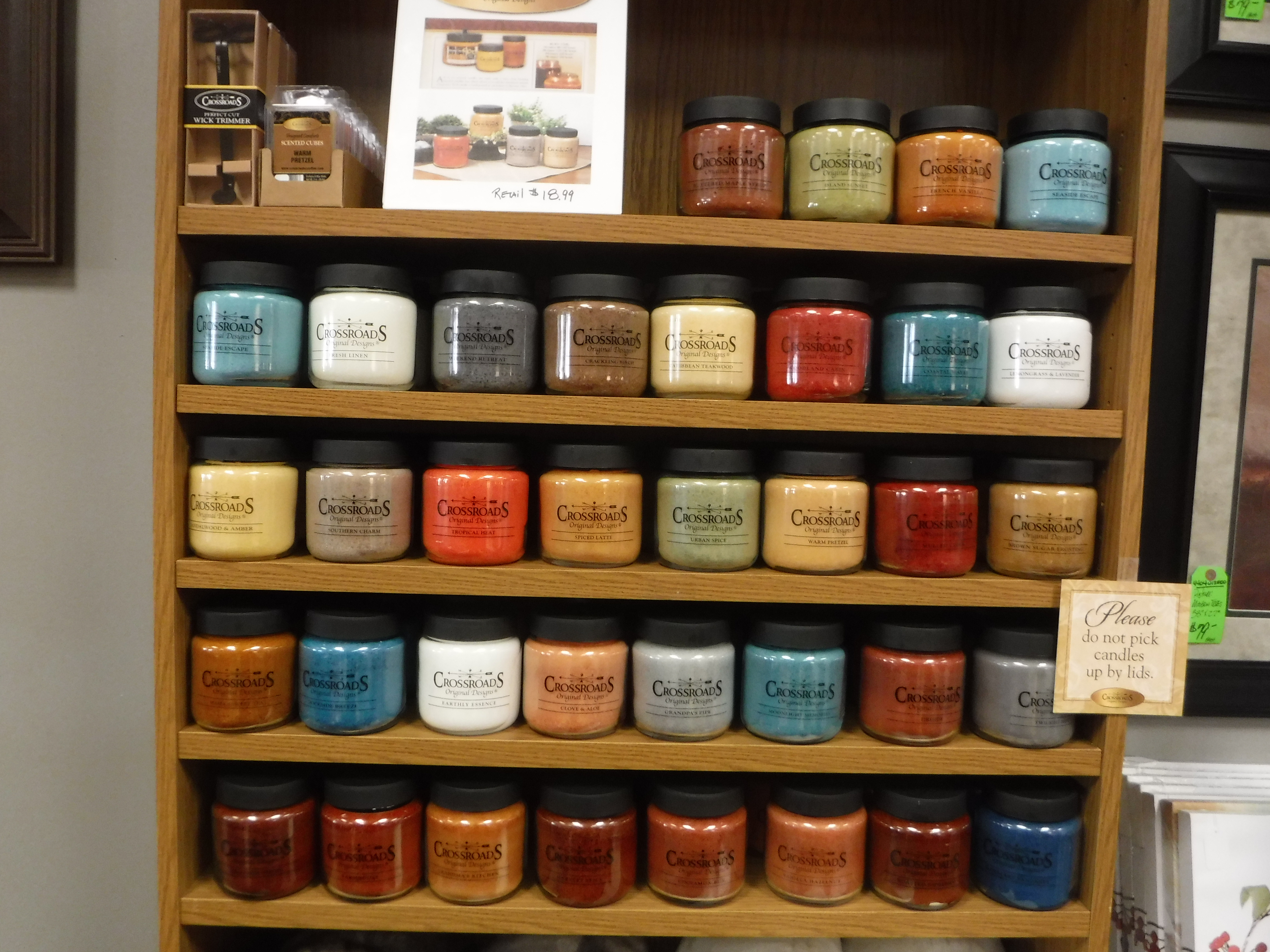 Crossroads Candles 16oz 80-100 Hours Burntime $18.99