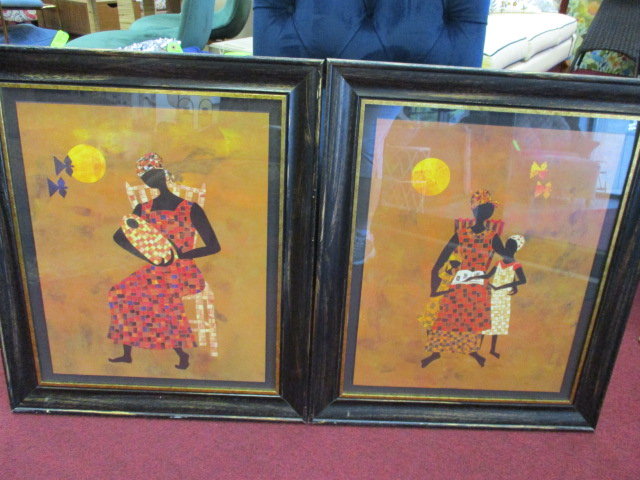 African Prints Set of 22